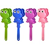 Set of 4 FROG HAND CLAPPERS - Party Bag Toy