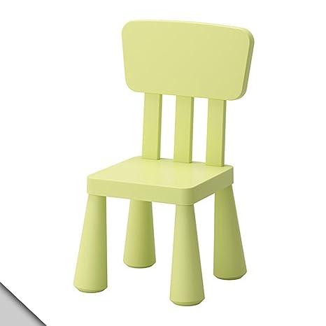 1 X Ikeau0027s Mammut Childrenu0027s Chair, Light Green By SMJAITD