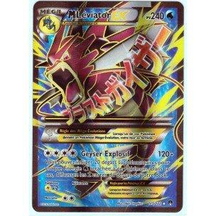 Carte Pokémon 115 122 Mega M Leviator Ex Holo Full Art 240
