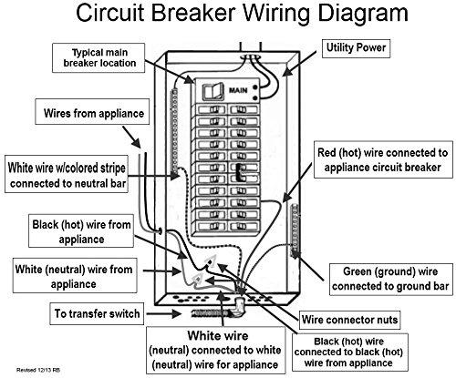 Heezy HTS15 MAN Generator Transfer Switch Powers Gas