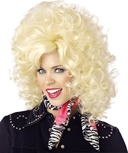 California Costumes Women's Country Western Diva Wig, Blonde, One Size ()