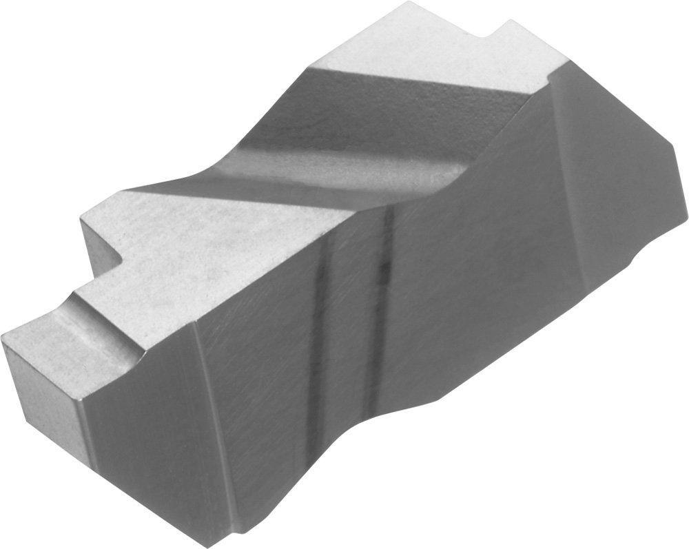0.018 Corner Radius Megacoat 0.189 Groove Width Carbide PR1215 Grade KYOCERA KCGP4189L PR1215 Cera-Notch Grooving Insert Left Hand KCGP 2 Cutting Edges