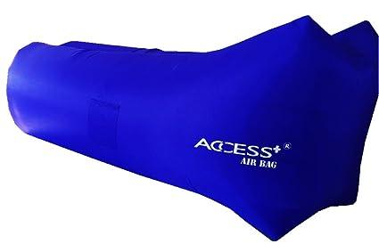 Access + ® sofá tumbona hinchable, saco de dormir, de compresión Air camas,
