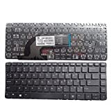 KEYFAN® Keyboard for HP ProBook 640 G1 645 G1 445 G1 640 G1 440 445 G1 G2 640 645 430 G2 Laptop Keyboard no frame Backlight US Black