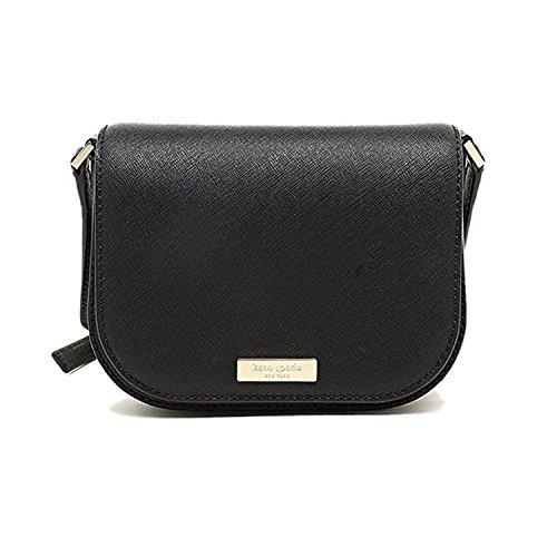 Kate Spade New York Laurel Way Carsen Leather Cross-body Bag (Black)