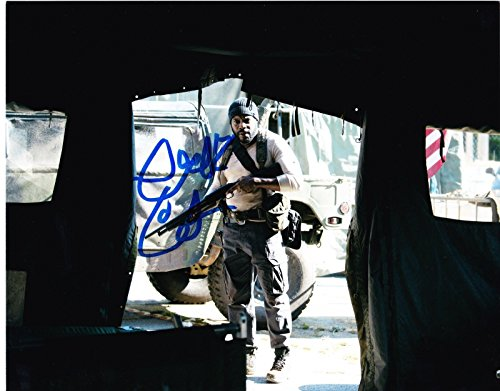 - CHAD COLEMAN SIGNED 8X10 PHOTO AUTOGRAPH THE WALKING DEAD SEASON 4 PROMO COA C