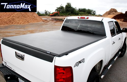 TonnoMax TC-MTF03 6' Soft Tri-Fold Tonneau Cover for Chevrolet/GMC S-10/Sonoma (1997 Chevy S10 Tonneau Cover compare prices)