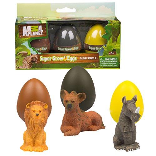 Safari Animals Water Eggs