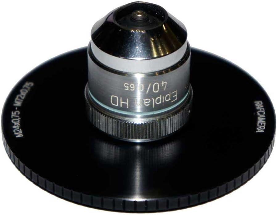 72mm to 24mm Step-Down Ring M72x0.75 Male to M24x0.75 Female Thread Adapter