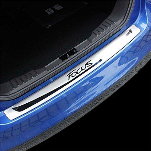 Vesul Rear Deck Bumper Door Sill Plate Trim Protector Cover For Ford Focus MK3 Hatchback (Ford Focus Rear Bumper)
