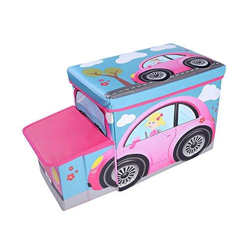 - OVI Toys Storage Box Toy Bin Toy Chest Foldable Storage Seat - Beatles