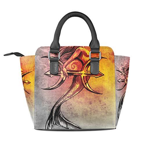Medium pour à multicolore Sac femme porter l'épaule DragonSwordlinsu à 8RnZxFF