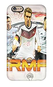 Anti-scratch Case Cover GoldenArea Protective Germany - 2014 Fifa World Cup Brazil Case For Iphone 6