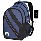 YAMTION Laptop Backpack Charging Backpack with USB Charging Port and Laptop Compartment fits 16 inch Laptop Notebook for Business Office College Travel