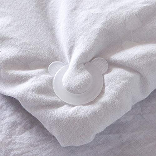 Panamami 4 Teile//satz Home N/ützliche Bettbez/üge Blatt Halter Clip Clamp Verschluss Bettbezug Gripper Bettw/äsche Clips Halter
