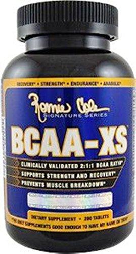 Ronnie Coleman BCAA-XS(200 Tabs)-Verzweigtkettige Aminosäuren im 2:1:1 Verhältnis!