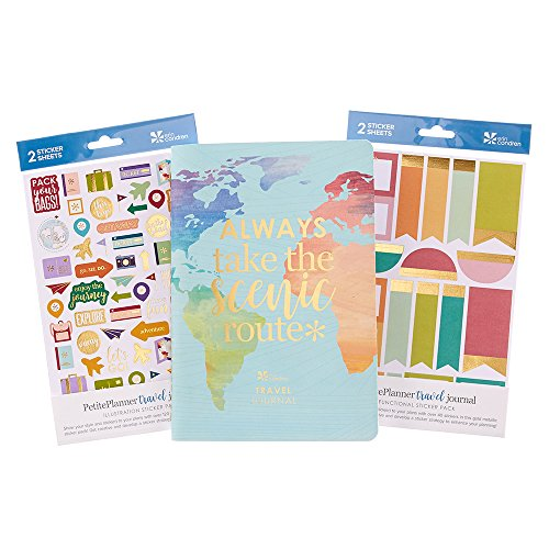 Erin Condren Travel Journal Bundle with Travel Stickers:, used for sale  Delivered anywhere in USA
