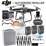 DJI Phantom 4 PRO Obsidian Edition Drone Quadcopter (Black) Ultimate Flyer Bundle