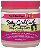 Aunt Jackie's Girls Baby Girl Curls Curling & Twisting Custard, 15 oz