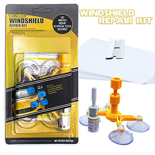 Mookis Windshield Repair Kit to Fix Car Cracks,Chips,Bull's Eyes and Starts by Mookis (Image #1)