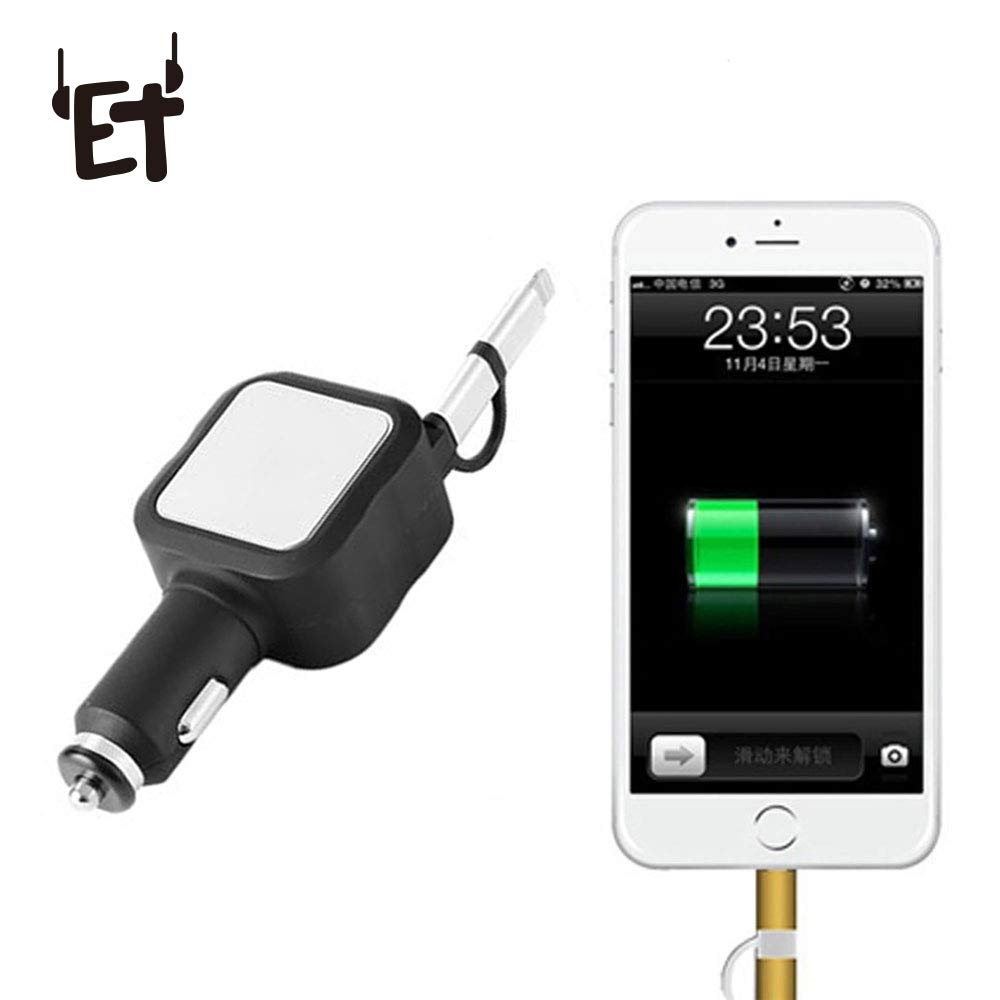 Vapeonly USB Wall Charger Dual USB 2 Ports Adapter Wall Charging for Smartphone Charger for Phone 6 6s 7 Plus Samsung Xiaomi US Plus USB Phone Charger (Black/Silver)