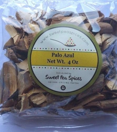 Premium Palo Azul 4 Oz .- Kidneywood Detox Blue Stick - Bulk by Sweet Pea Spice (Image #2)