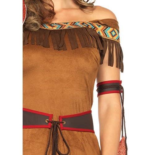 Leg Avenue Women's 4 Piece Native Princess Costume