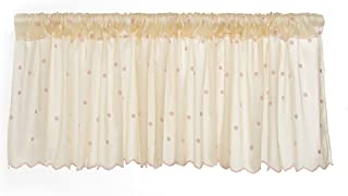 product image for Glenna Jean Florence Window Valance, Taupe/Pink