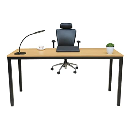 Homelifairy Computer Desk,63u0026quot; Large Modern Home Office Computer Desk/ Table For Gaming