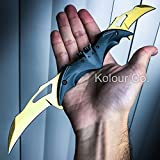 Batman Gold Knife Spring Assisted Folding Blade Pocket Dark Knight Joker NEW Review