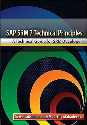 SAP SRM7 Technical Principles-Developer