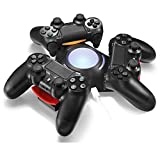 AOFU PS4 Controller Charger Triangle Dock Triple Charger Docking Station Stand for PS4 Playstation 4 DS4 DualShock 4 Controllers