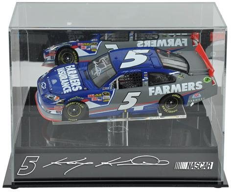 Kasey Kahne Memorabilia - Kasey Kahne 1/24th Die Cast Display Case | Details: Hendricks Motorsports, with Platform