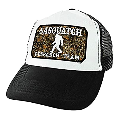 Hiking Camping Gifts Sasquatch Research Team Hat Sasquatch Gifts for Hikers Sasquatch Trucker Hat