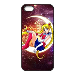Stylish Sailor Moon Design Rubber TPU Shell Protector for Iphone 5 5S