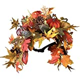 Autumn Leaves Mailbox Swag Fall Decor