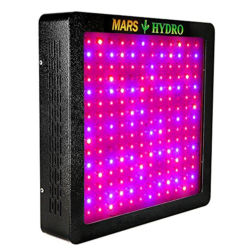 Led Grow Light,MARS HYDRO Full Spectrum Grow Lights for Greenhouse Indoor Plants Veg and Flower,Growing Light Bulbs for Hydroponics (MarsII 900 W) For Sale