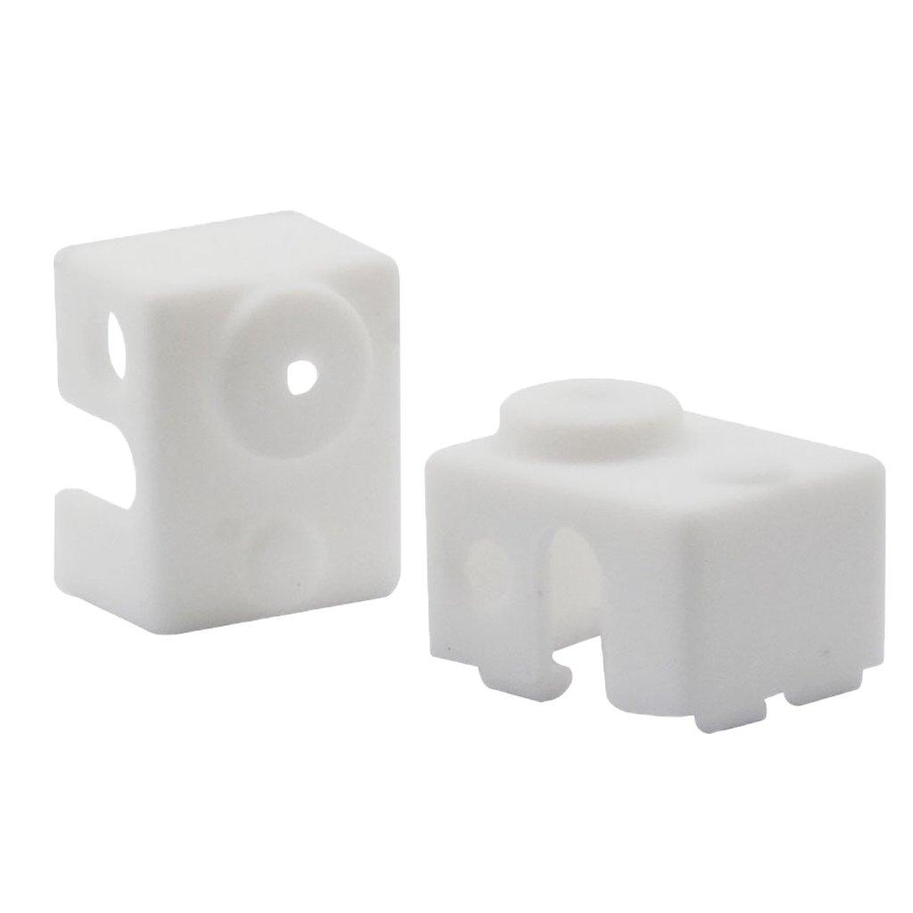 H HILABEE 2 Piezas De Goma Heater Block Cover V6 Calcetines ...