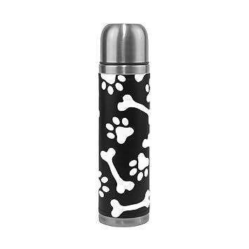 Amazon.com: ALAZA - Botella de acero inoxidable de doble ...