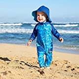 UV Skinz UPF 50+ Baby Boys Sun & Swim Suit - Royal