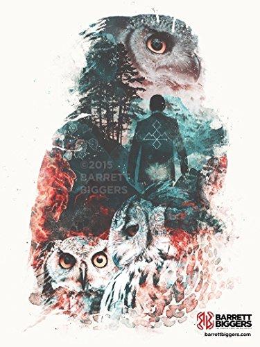 t They Seem Twin Peaks Inspired Geek Nature Surrealism Fine Art Giclèe Print ()