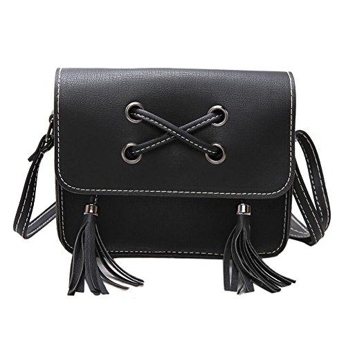 Black Girl Tassel Widewing Crossbody Shoulder Bags Women Messenger Handbags Bag wHaTOqz