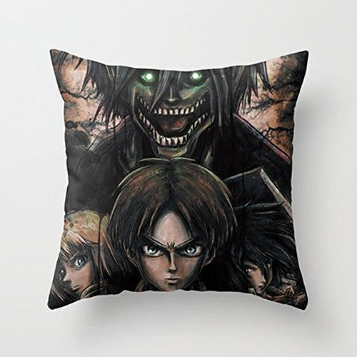 Busy Deals New Attack On Titan Shingeki No Kyojin Pillowcase Home Decoration pillowcase covers