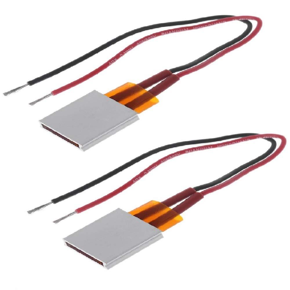 100W 220V PTC Calentador de Aire de Cer/ámica de Tipo Conductor Elemento de Calefacci/ón de PTC