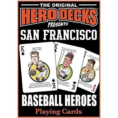 Hero Decks - San Francisco Giants Playing Cards: Toys & Games