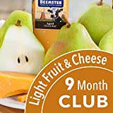 Golden State Fruit Monthly Fruit and Cheese Club (Light Version) - 9 Month Club