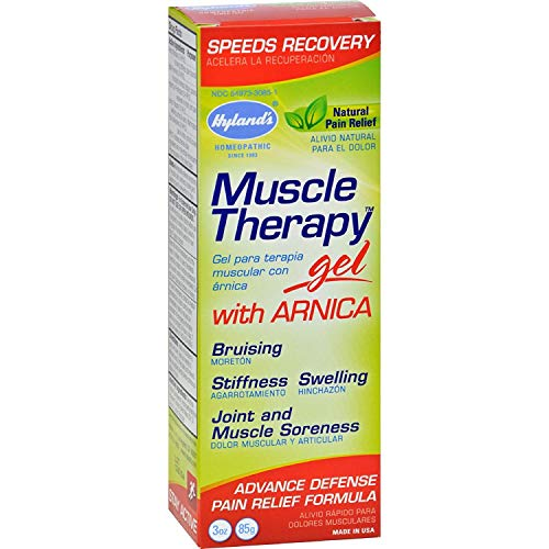 Hylands Muscle Therapy Gel with Arnica - 3 oz (Pack of 2)