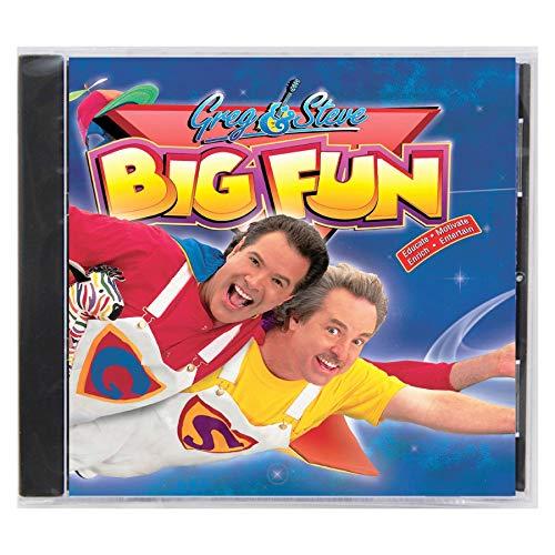 (Greg & Steve Productions YM-016CD Greg & Steve: Big Fun CD)