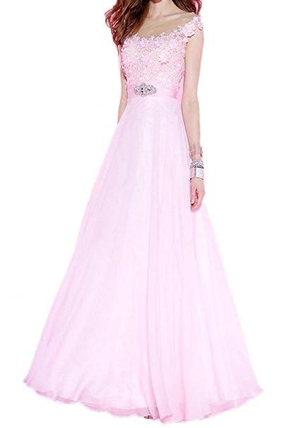 5c6479e035 Winnie fascinante de la novia flores Prom bola vestidos largo boda  recepción fiesta  Amazon.es  Ropa y accesorios