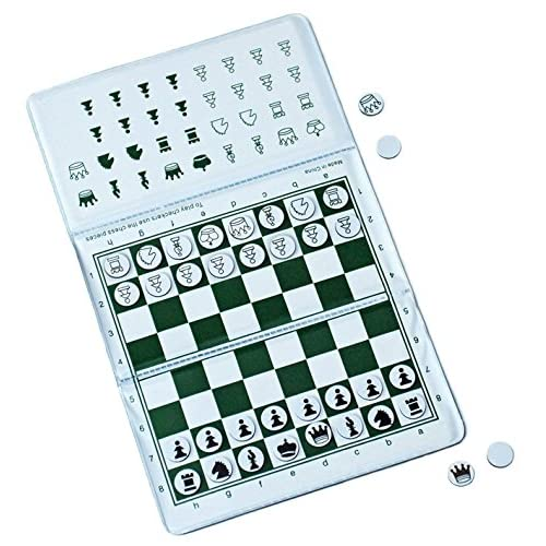 Best WE Games Ultimate Checkbook Magnetic Travel Chess Set (New U0026 Improved)